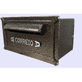 Porta-cartas Aluminio 14x27 cm Bronze - RB