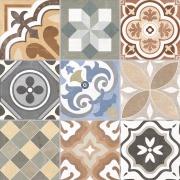 Cerâmica Grês Oxford Deco Acetinado Tipo A 60x60cm 2,50m² Tan - Biancogres