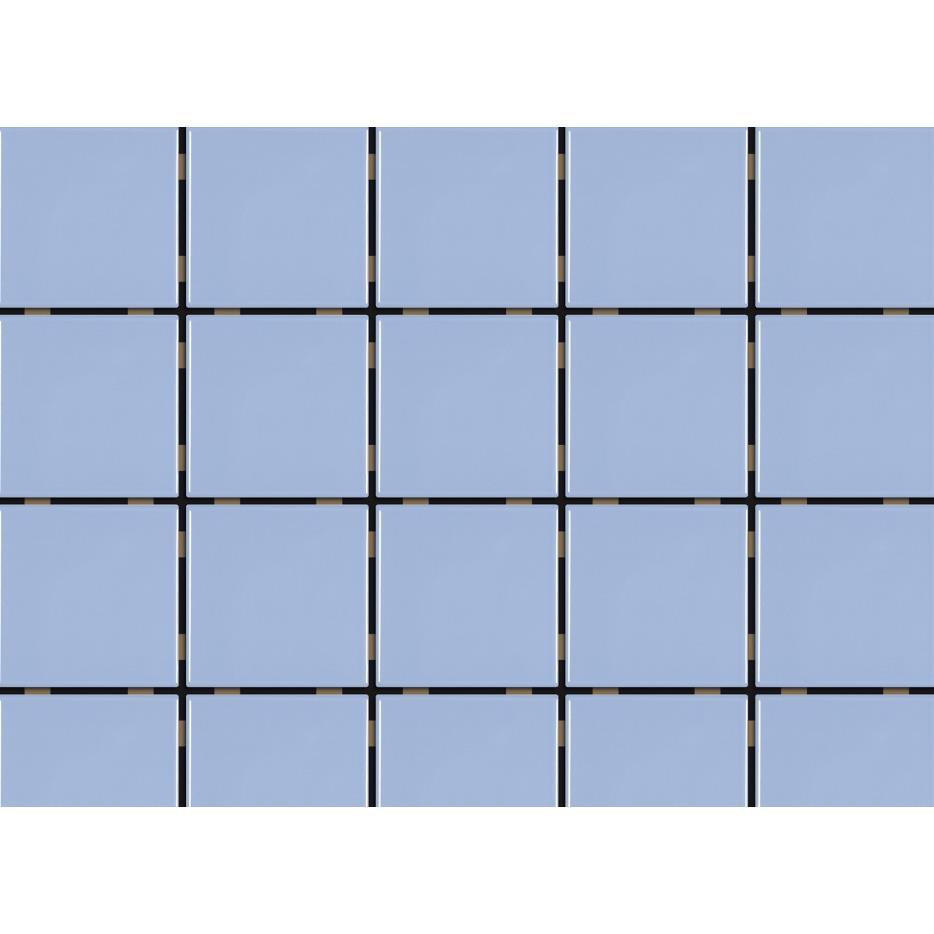 Revestimento de Parede Brilhante 159m 75x75cm Azul Laguna Mesh - Eliane