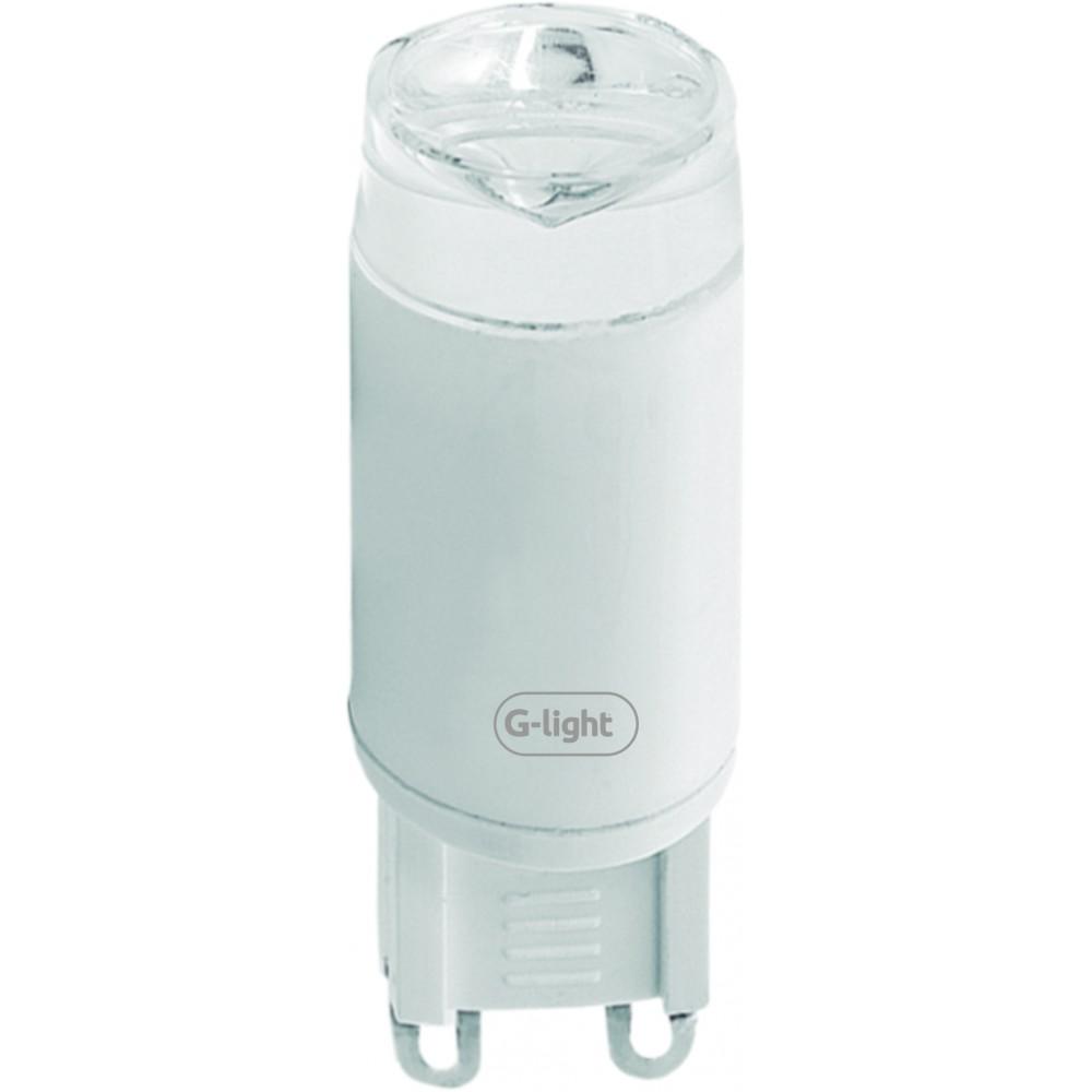 Lampada LED Halopin G9 3W Luz Amarela G9 220 V - Glight