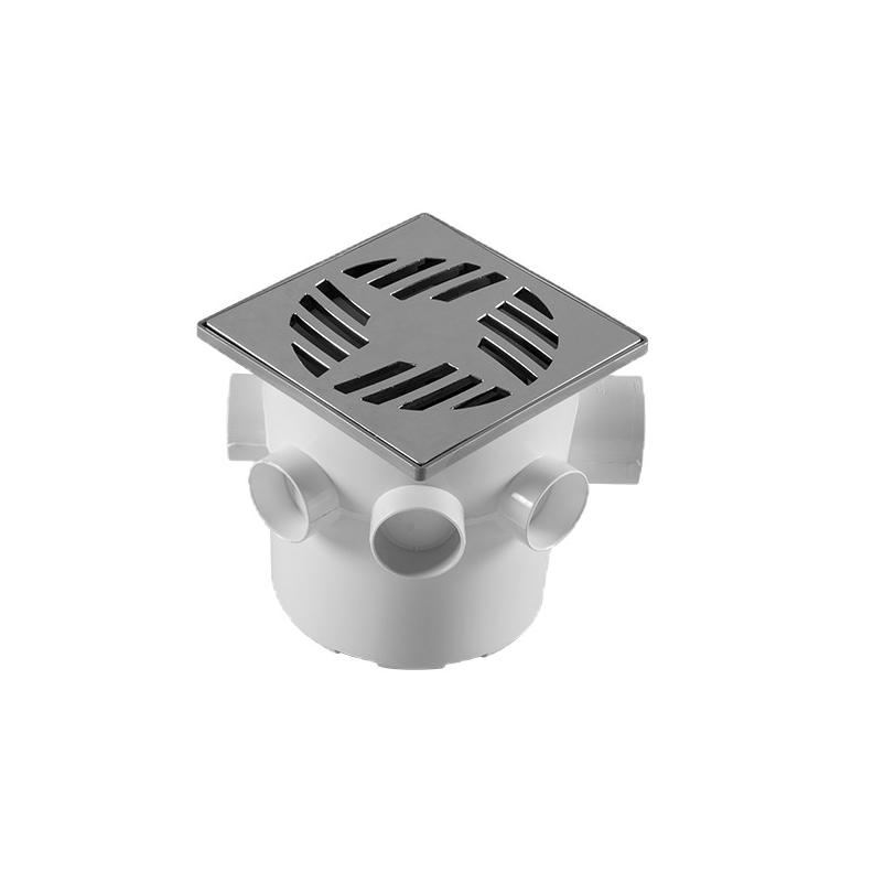 Caixa Sifonada Cilindrica PVC 150 x 150 mm - Astra