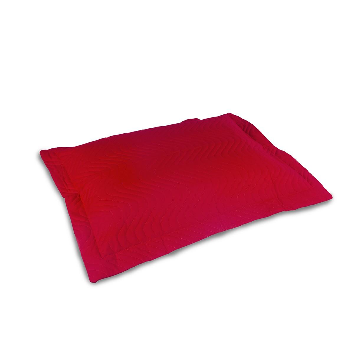 Porta Travesseiro Percal 180 Fios Vermelho - Juma