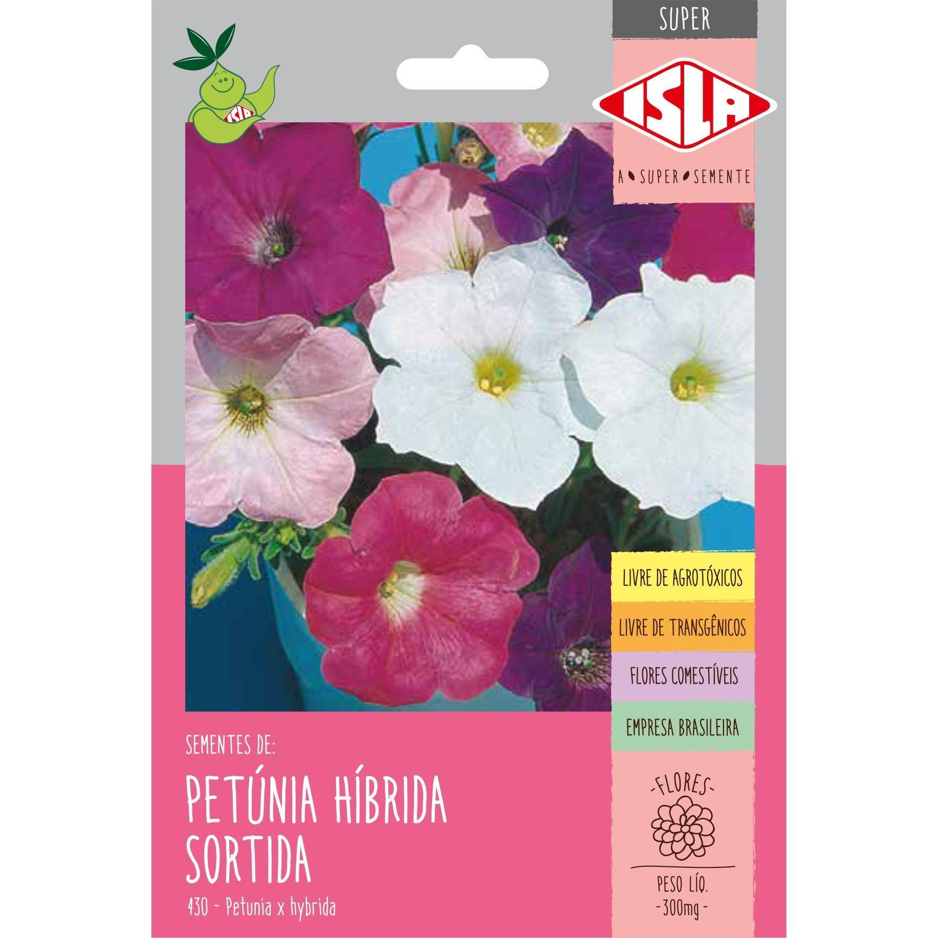Semente Flor Petunia 300mg Envelope - Isla