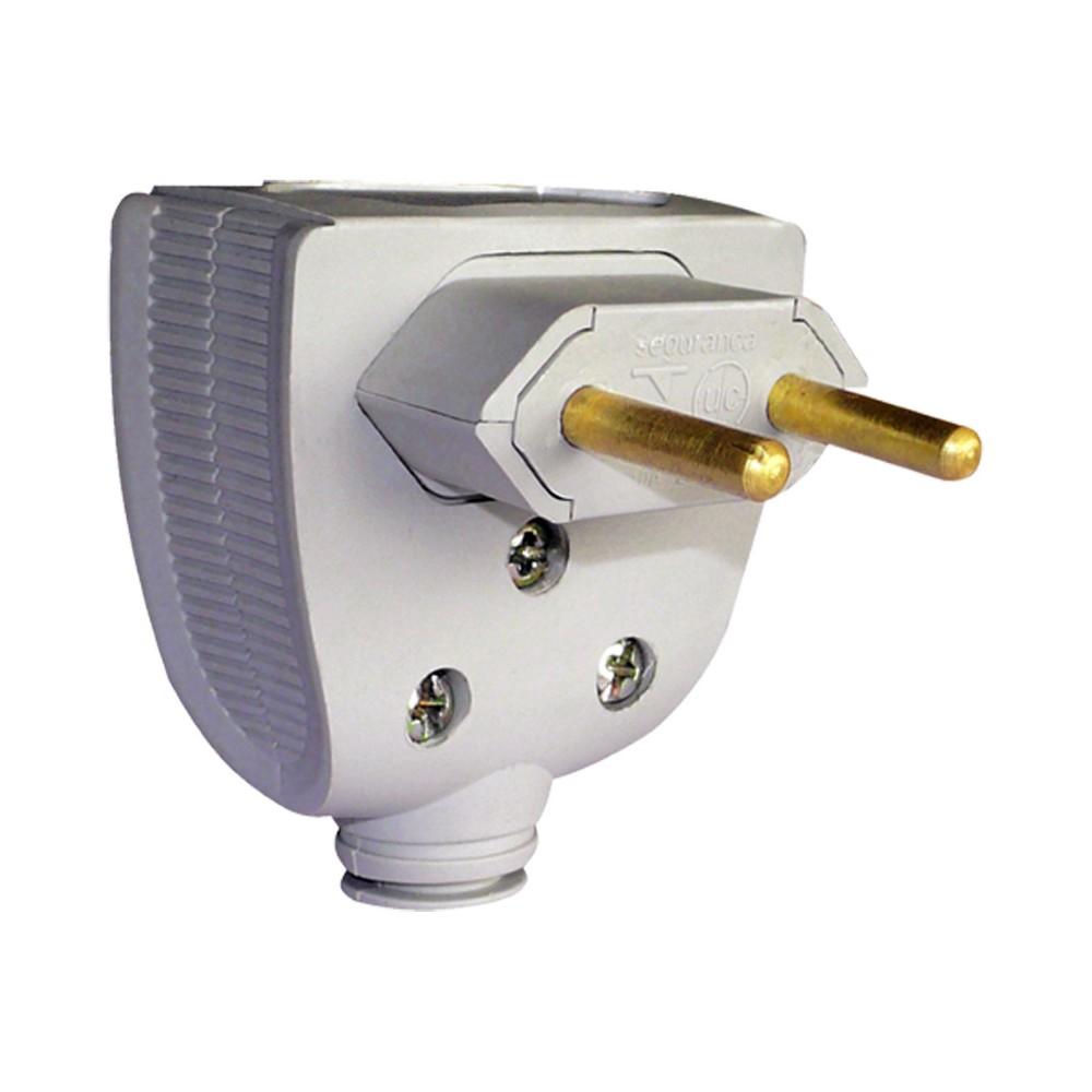 Plug Macho 2P Cinza 20A - Legrand