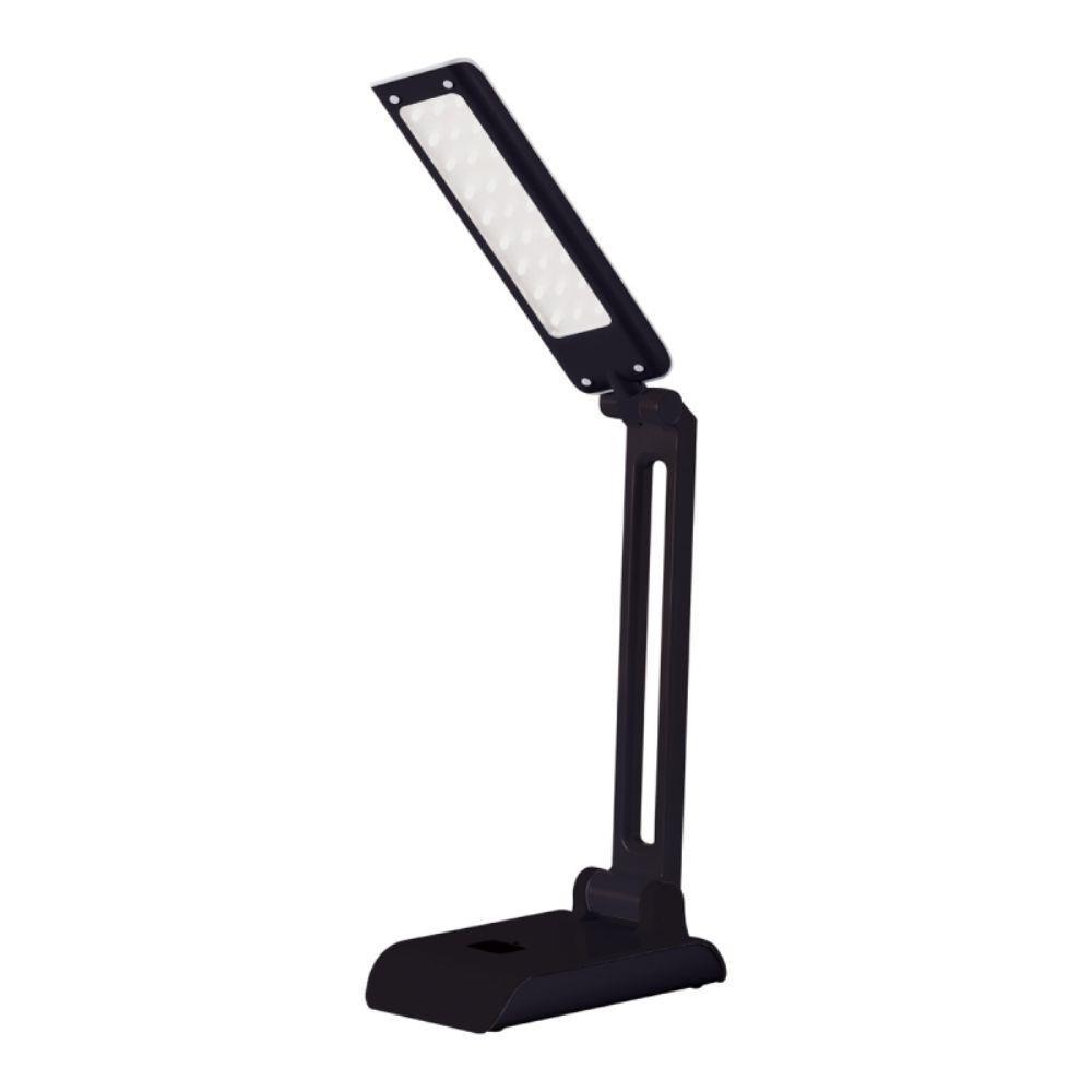 Luminaria de Mesa LED Pelicano 4w Preta Bivolt - Llum