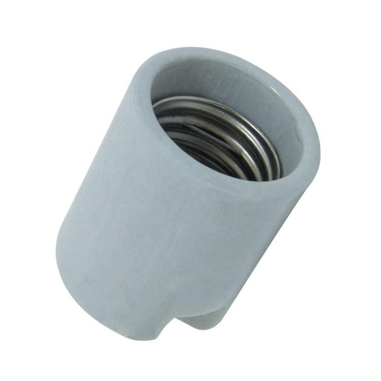 Porta Lampada de Porcelana E40 - Ecoline