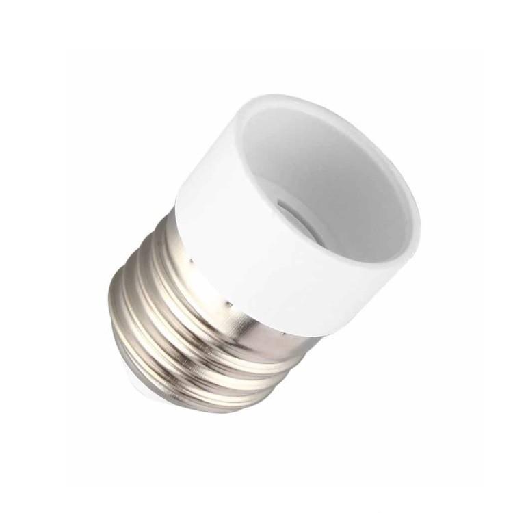 Porta Lampada de Porcela E27E14 com Adaptador - Ecoline