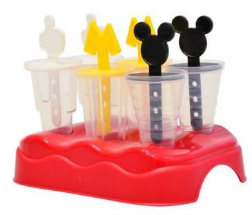 Formas para Picole Plastico 6 Pecas - Plasutil