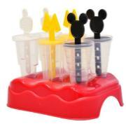 Formas para Picolé Plástico 6 Peças - Plasutil
