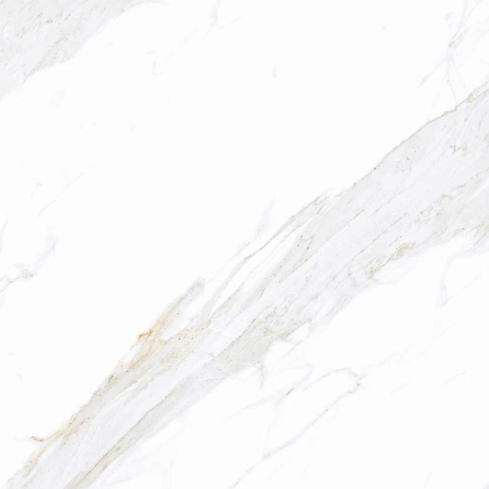 Porcelanato Calacata Lux Esmaltado Polido Tipo A 82x82cm 200m Bege - Biancogres
