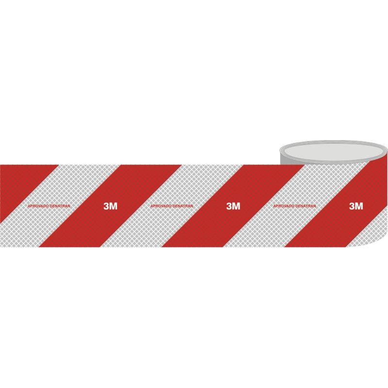 Fita Adesiva de Sinalizacao 100 mm X 1 Metro