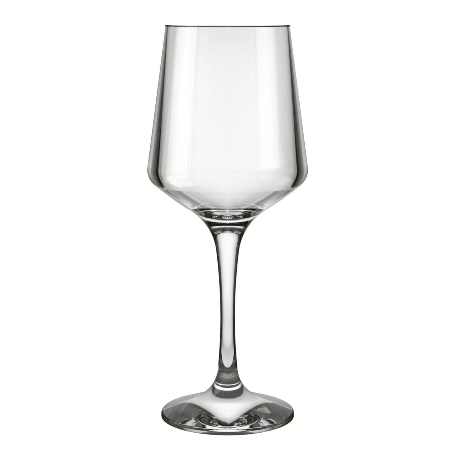 Taca de Vinho Vidro 390ml Transparente - Brunello Nadir