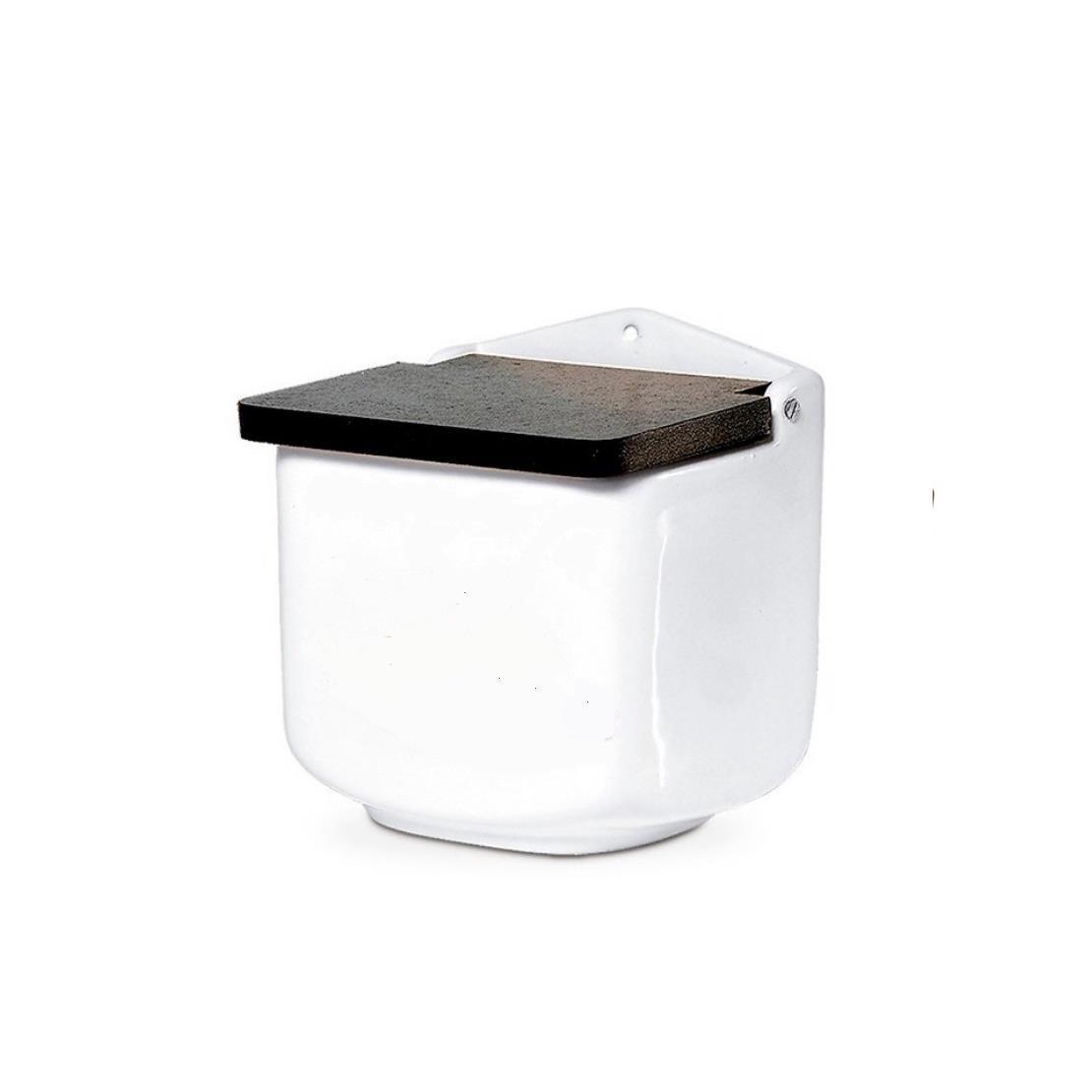Saleiro de Pia Ceramico 13cm Branco - Regina