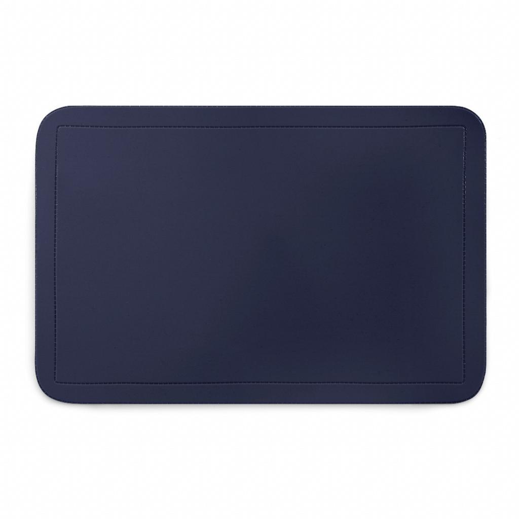Pano Americano Retangular 44 x 28 cm PVC Azul Escuro - CopaCia