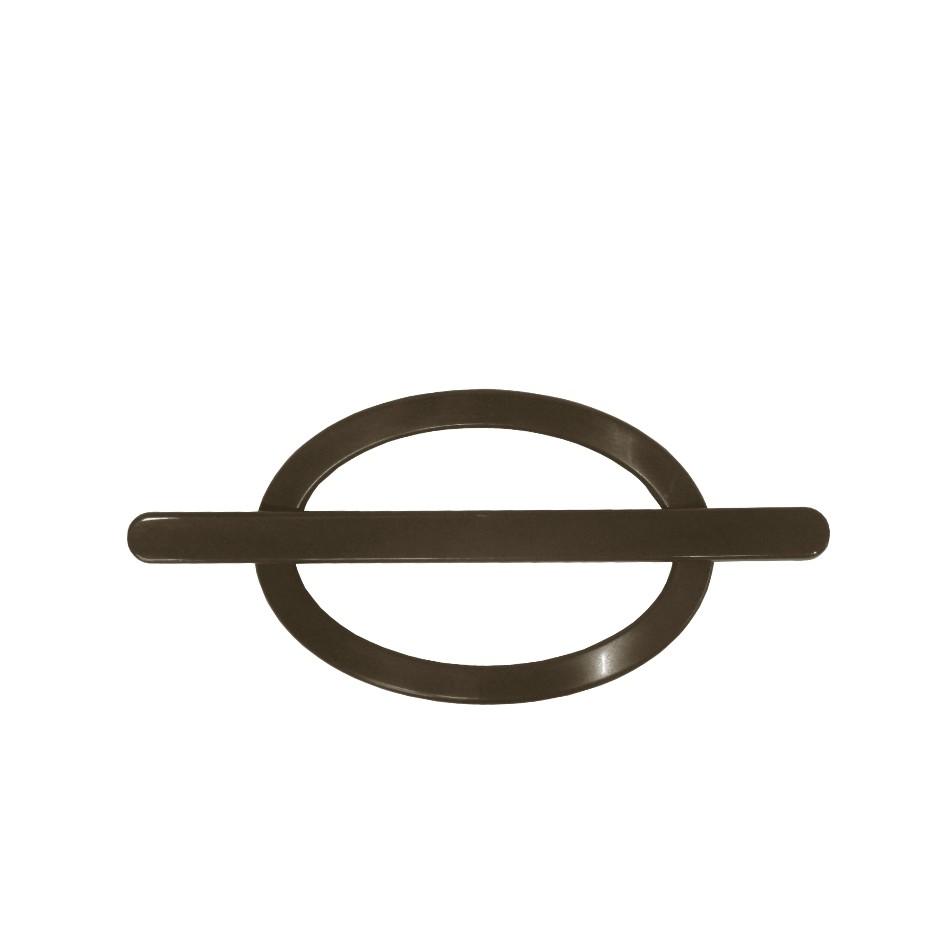 Fivela Decorativa para Cortina Oval 2 Pecas PFVP2-043 - Bella Arte