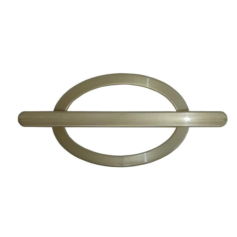 Fivela Decorativa para Cortina Oval 2 Pecas - Bella Arte