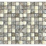 Pastilha de Vidro Craquelada 2,5x2,5cm Branco - MC002B - Jolie