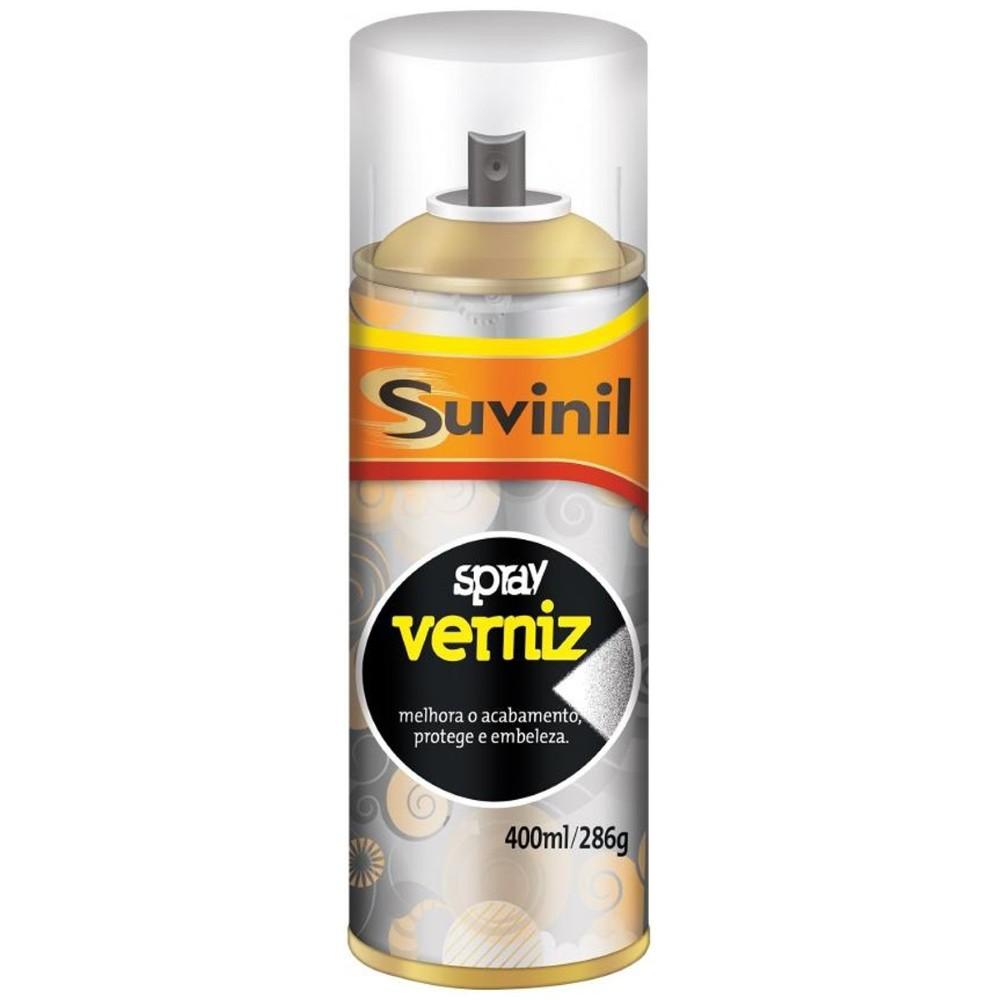 Verniz Spray Verniz Brilhante - Transparente - 0400L - Suvinil