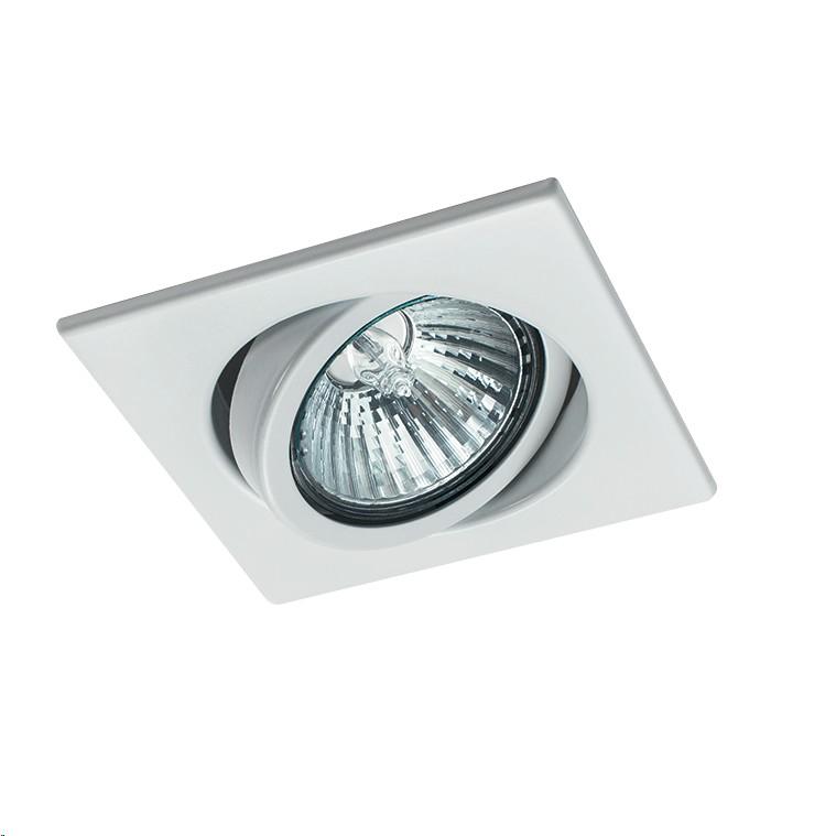 Spot Embutir Aluminio E27 Movel Quadrado BMT 6042 - Goli