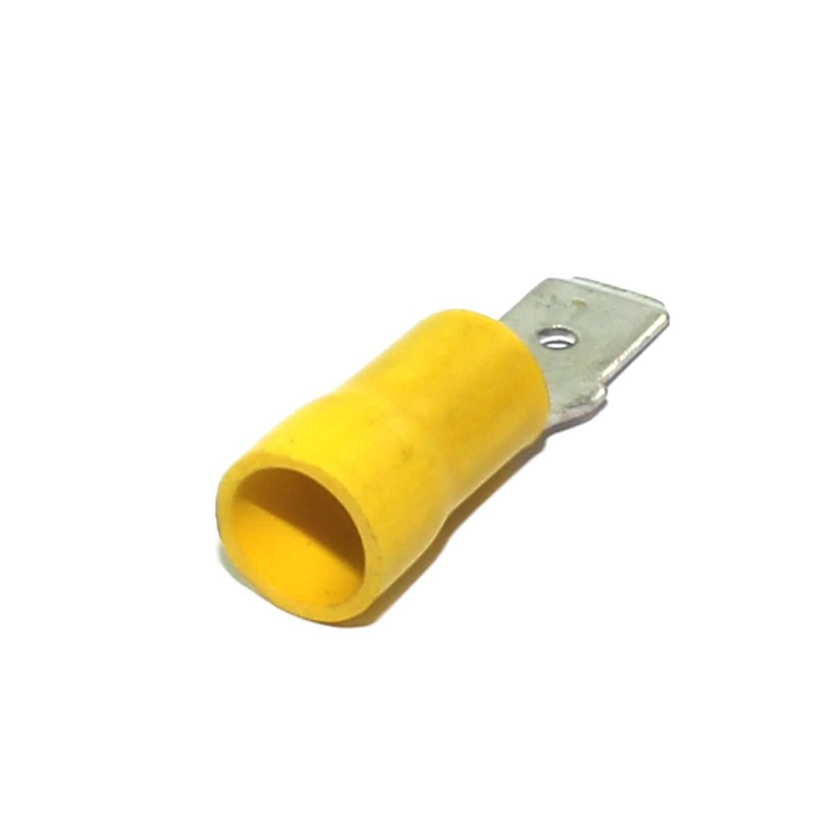 Engate Macho 270 a 660 mm Isolado - 10 Unidades - Crimper