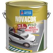 Tinta Acrílica Fosco Premium 3,6L - Verde - Novacor Sherwin Willians