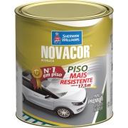 Tinta Acrílica Fosco Premium 0,9L - Preto - Novacor Sherwin Willians