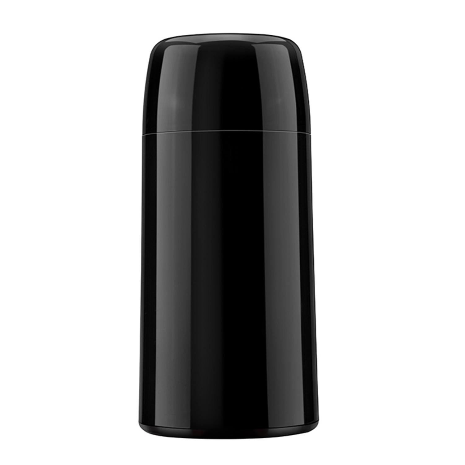 Garrafa Termica de Plastico Rosca 0250L Preto - Firenzi Mini - Invicta