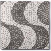 Cerâmica Copacabana Granilha Tipo A 42x42cm 2m² Cinza - 15994 - Porto Rico