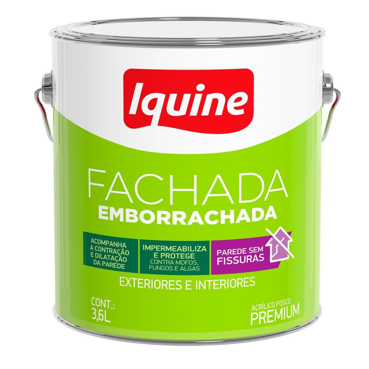 Tinta Acrilica Fosco Premium 36L - Branco Neve - Fachadas Iquine
