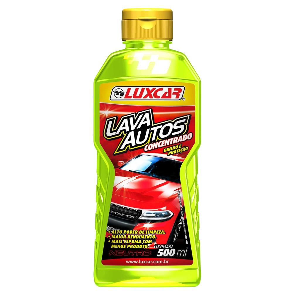 Lava Auto Concentrado 500 ml - 2491 - Luxcar