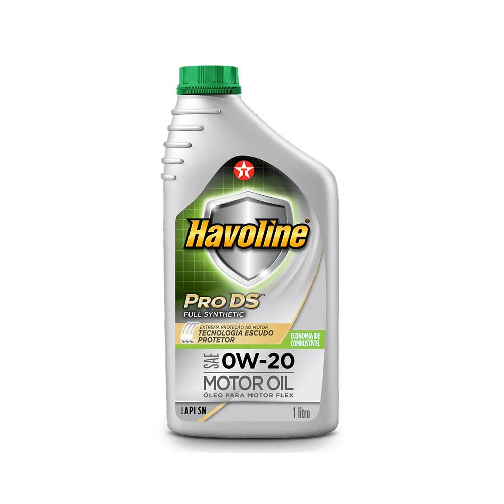 Oleo Lubrificante Havoline PRODS Sintetico 0W20 1L - Texaco