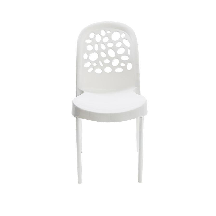 Cadeira Deluxe de Polipropileno Branca - Forte Plastico