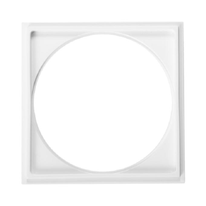 Porta-Grelha Quadrado Branco Pg13 - Astra