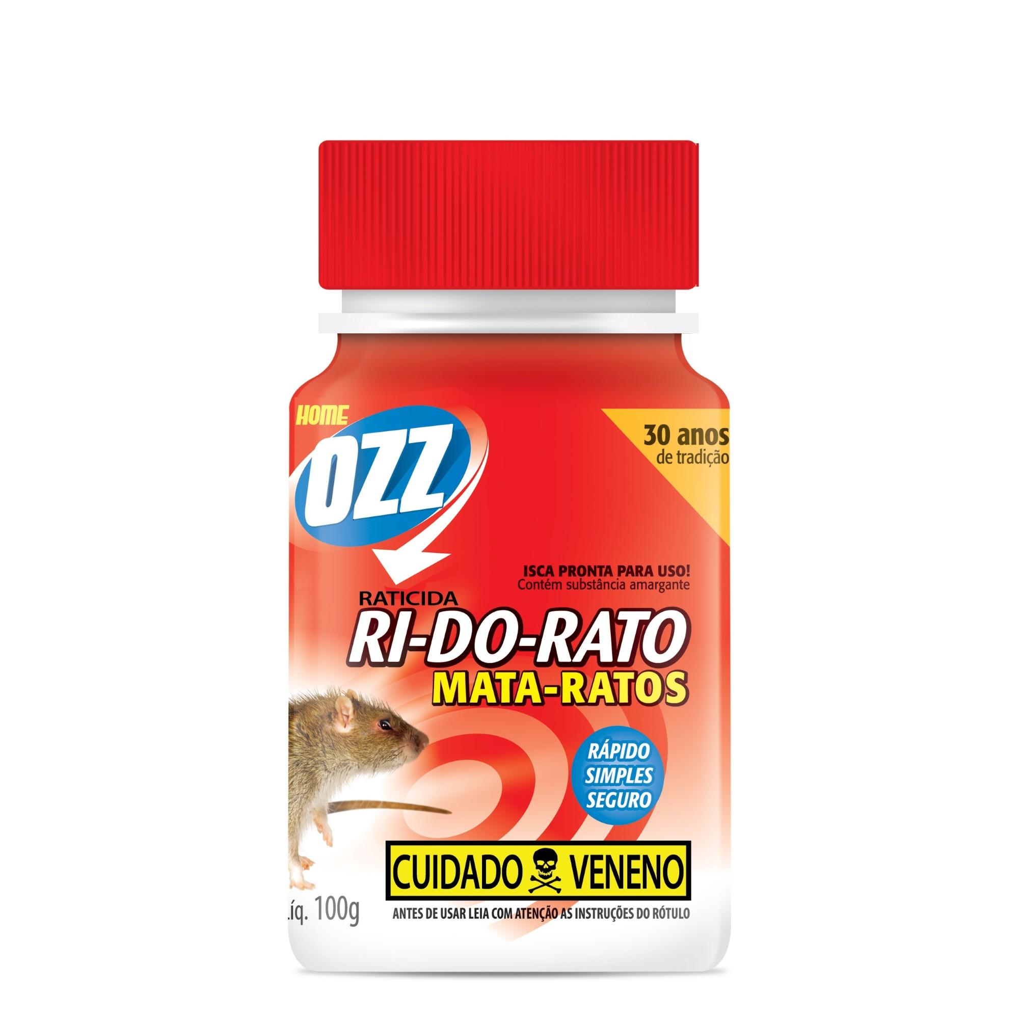 Veneno Inseticida Ri-Do-Rato Farelado 100g - Ozz