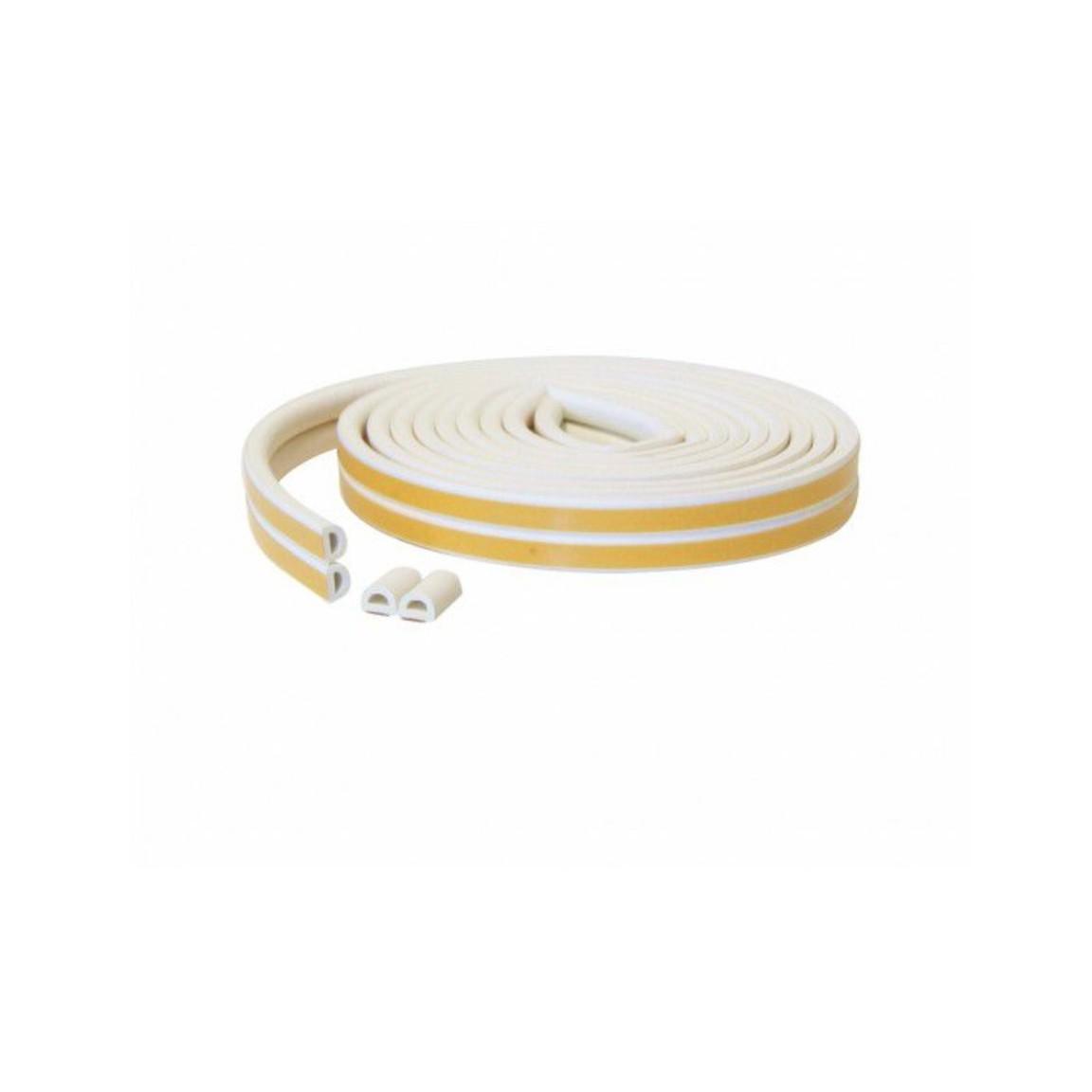 Veda Fresta Adesivo De Borracha 60 cm Branco 5001 - Stamaco