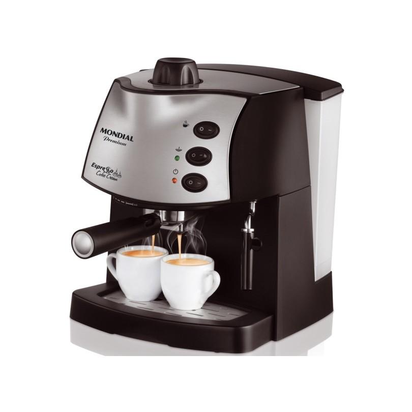 Cafeteira Eletrica Expresso Mondial 1850-02 - 220V - Preta