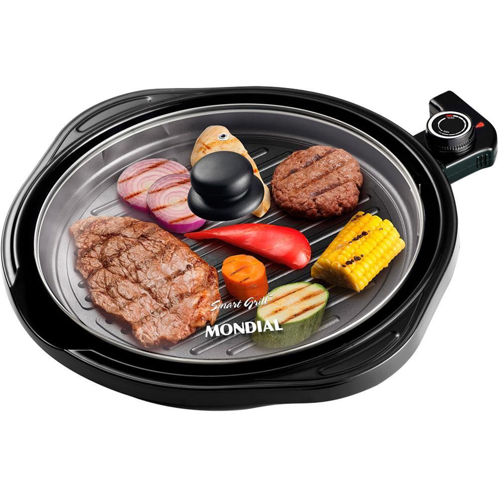 Grill Eletrico Cook G-03 Inox 220V - Mondial