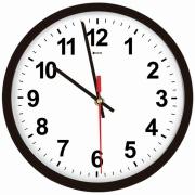 Relógio de Parede 39,5 cm Branco 1028 - Relobraz