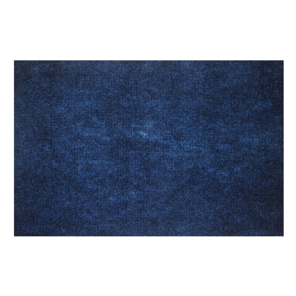 Tapete de Entrada Home 39x59 cm Agulhado Azul 101312 - Kapazi