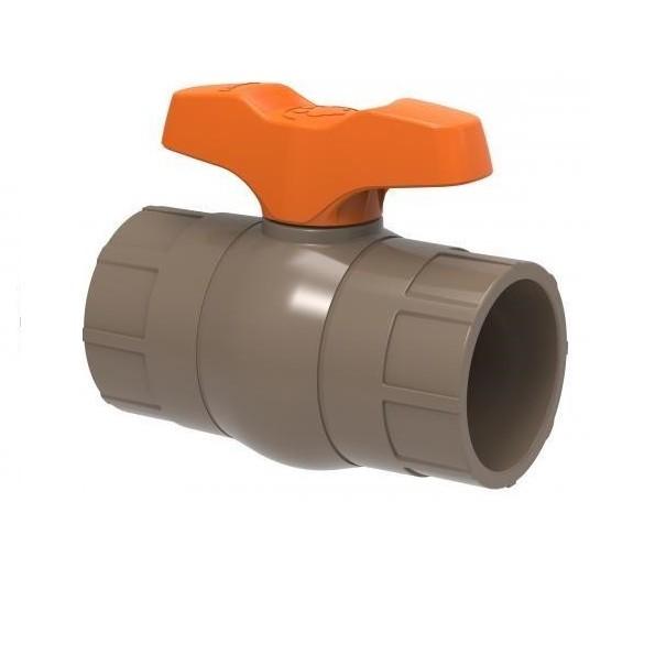 Registro Esfera Soldavel PVC Simples Compacto 25mm - Tigre