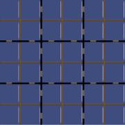 Revestimento Square Safira Mesh Brilhante Tipo A 10x10cm 1,62m² Azul - Eliane