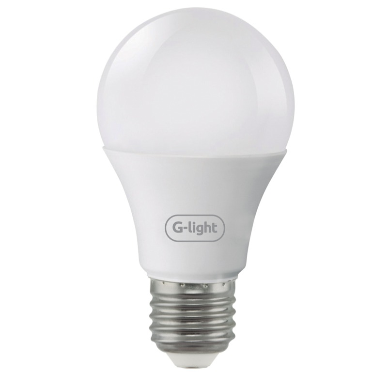Lampada LED Bulbo A55 4W Luz Branca E27 Autovolt - Glight