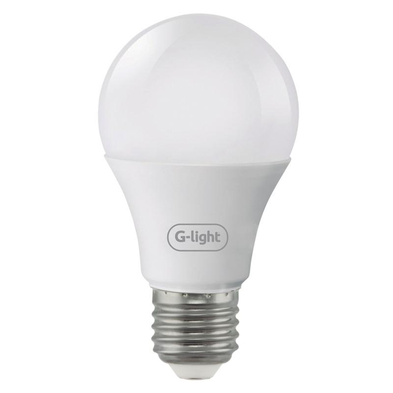 Lampada LED Bulbo A60 650W Luz Branca E27 6500K Autovolt - Glight