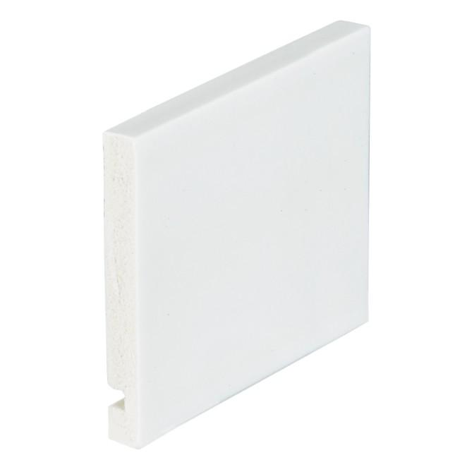 Guarnicao para Portas Poliestireno 225cm x 1300cm x 10cm Arquitech Branca - Arquitech