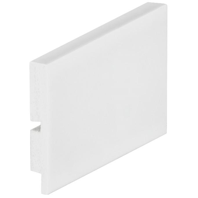 Rodape Branco Arquitech Liso em Poliestireno 7x240cm