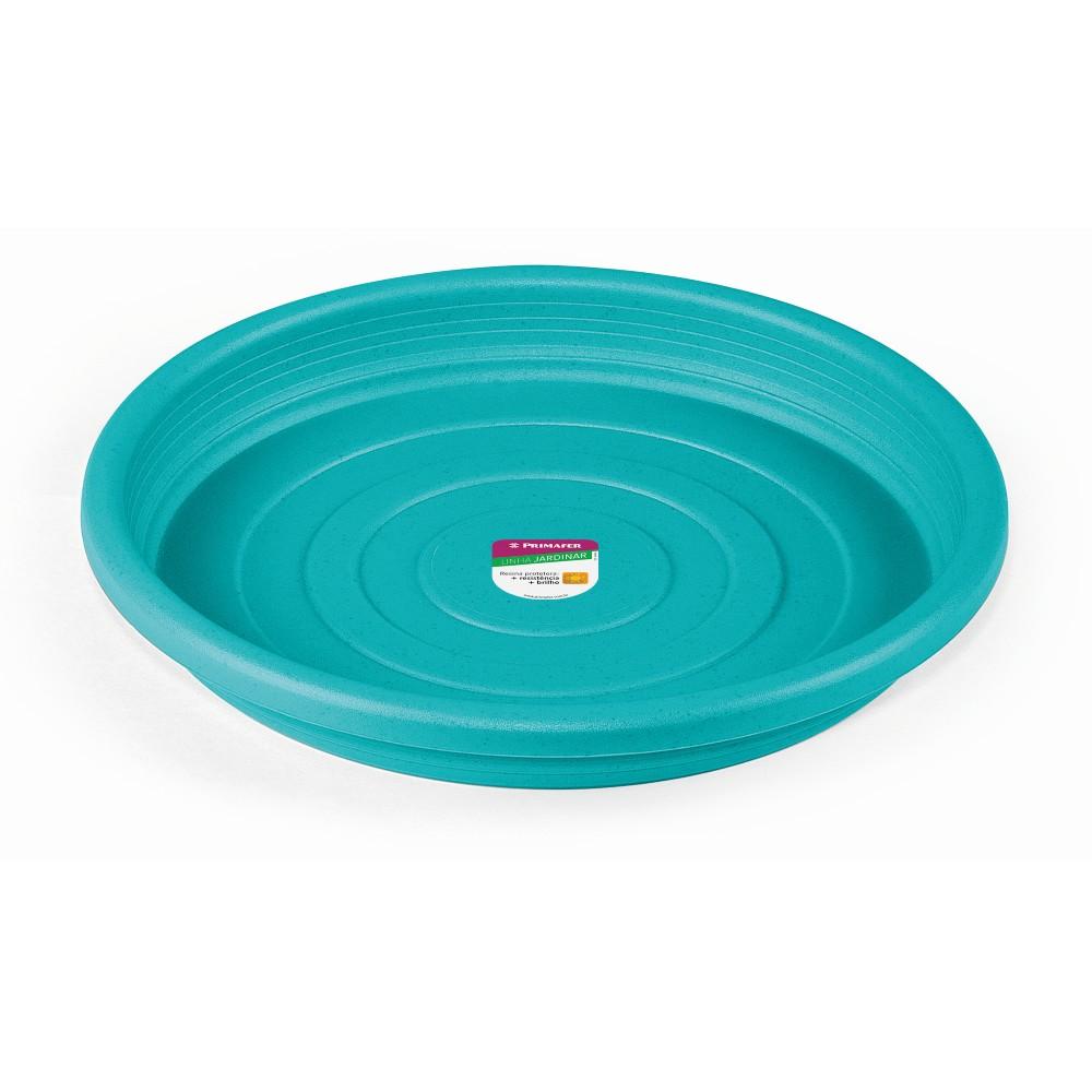 Prato de Plastico para Vasos de Plantas 13 x 13 cm Azul - Primafer