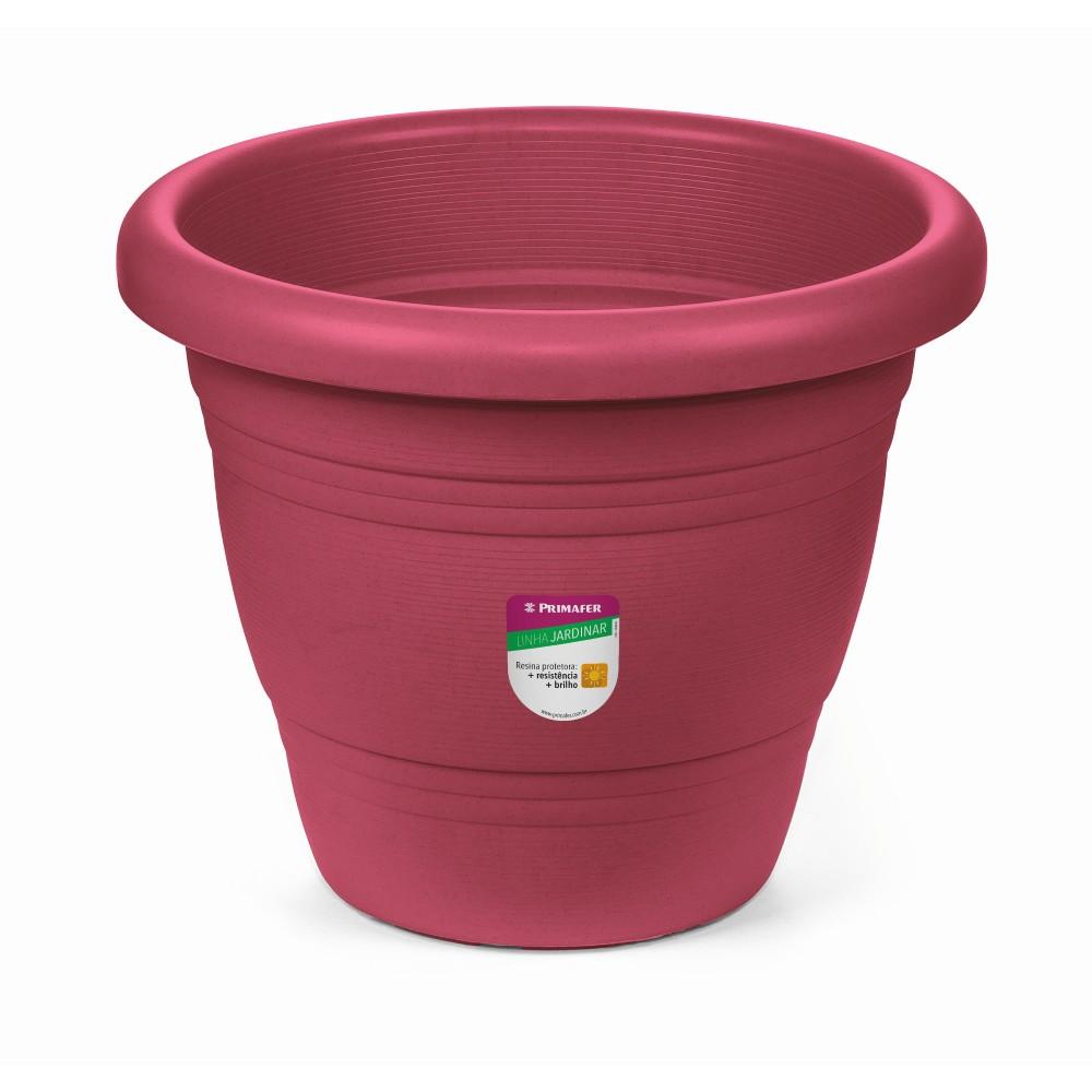 Vaso de Plastico para Plantas 17 x 17 cm Rosa - Primafer