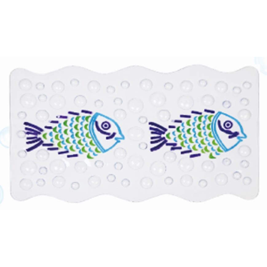 Tapete de Banheiro Antiderrapante 55x55 cm Branco J-B6136 - Bianchini