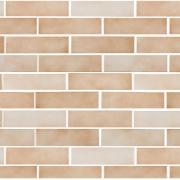 Cerâmica Brick Bege Tipo A 7x26cm 0,92m² Marrom Claro - Portobello