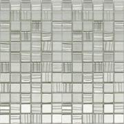 Pastilha de Vidro Brilhante 2,3x2,3cm Prata - Vision Metal - Vetromani